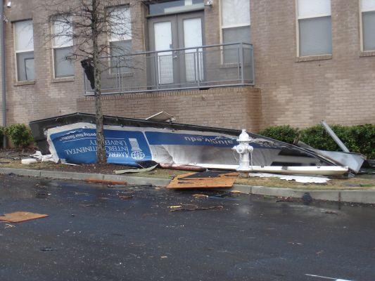 tornados don't like advertising in atlanta